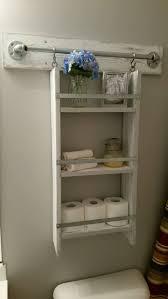 Bathroom Rustic Vanities Sets Shelves Ideas Storage Over Toilet Furniture Space Savers Wood