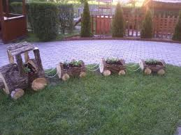 Fab Art DIY Rustic Log Decorating Ideas For Home And Garden23A