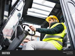 100 Female Truck Driver Forklift Image Photo Free Trial Bigstock