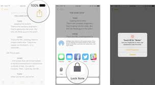 How to lock Notes with password or Touch ID on iPhone and iPad