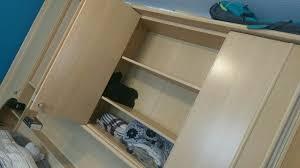 schlafzimmer bett mit schrank überbau in 67547 worms for