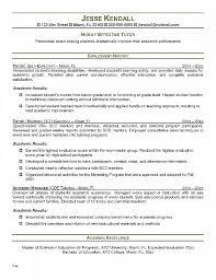 Tutor Resume Template Unique Sample Nursing Lecturer Cv Esol Private Math Peer
