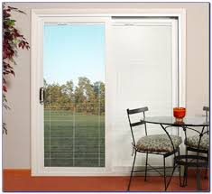 French Patio Doors With Internal Blinds by Prepossessing 30 Sliding Patio Doors With Built In Blinds Design