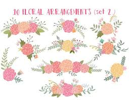 Rustic Clipart Wedding Floral 1