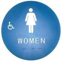 Ada Restroom Sign Mounting Height by Ada And Title 24 Restroom Signs