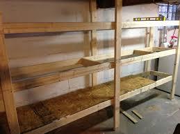 luxury design basement storage shelves building a wooden shelf in