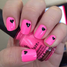 Pink Acrylic Nails Designs Ideas Easy Nail Designs Fake Nails