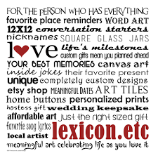 Lexicon.etc Designs Ltd By Lexiconetc On Etsy Custom Insurance Card Holder Promotional Business Cases News And Media Coverage Persalization Mall Shopulars New App Alerts You To Nearby Deals No Coupon Clipping Russ Merch Coupon Code Personal Creations 25 Off Hershey Shoes Competitors Revenue Employees Owler Grace Personalized Code Vaca How Do I Change The Location Size Or Color Of My Text Retailers Domating With Online Promos Businesscom Invitations Announcements The Lakeside Collection Unique Gifts Home Decor Gift Catalogs