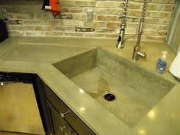 Kitchen Sinks With Drainboard Built In by 10 U2033 Deep Kitchen Sink With Built In Drain Board Area
