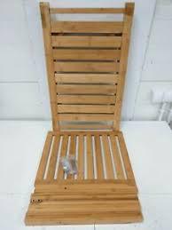 relaxdays badezimmer bank bambus sitzbank bad ablage badhocker holz