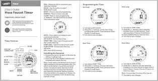 Hose Bib Timer Home Depot by 100 Orbit Hose Faucet Timer Instructions Timers Best Hose