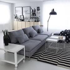 beautiful house of svartvitrandig with ikea söderhamn sofa ps