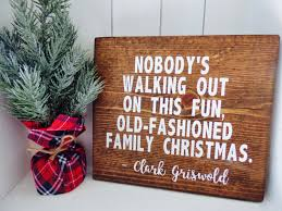 Griswold Christmas Tree Scene by Christmas Vacation Wood Sign Christmas Vacation Home Decor Clark
