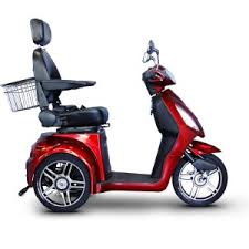 EMS 48 Adult Electric Mobility Scooter In Red Cozytrike