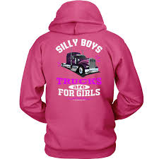 Silly Boys Trucks Are For Girls Women's Trucker Hoodie Pullover ... Silly Boys Are For Trucks Girls Album On Imgur Boys These Are For Girls Jeep Off Road Spare Tire Cover Redneck Sticker Decal Value Pack Decalcomania Beautiful Custom Vinyl Stickers Businessexplicit Graphics Trucks Decals Car Windows Girlie Products Decalsmaniacom Your Sticker Shop Your Car Trucker Girl T Shirt Thats A Cool Tee Wagon