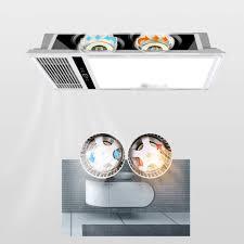 abluftventilator belüftung lüfter led licht beleuchtung zwei