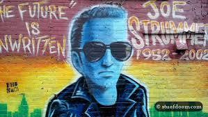 Joe Strummer Mural Address by The Wanderer 2013 January