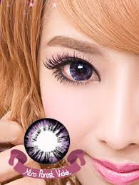 Cheap Prescription Colored Contacts Halloween by Xtra Forest Violet Colored Contacts Pair Wt B61 14 99