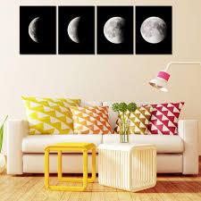 groß fertig zum aufhängen für wohnzimmer abstrakte weltraum