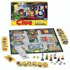 The Simpsons Clue Rules