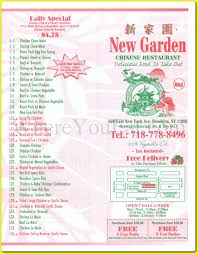 New Garden Chinese Restaurant In East Flatbush Brooklyn