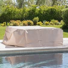 Patio Conversation Set Covers by Shield Outdoor Waterproof Fabric Chat Set Patio Cover By