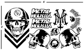 4' METAL MULISHA VINYL DECAL SHEET STICKERS MOTOCROSS DIRTBIKE ... Monster Jam Giant Wall Decals Tvs Toy Box Bigfoot Truck Body Wdecals Clear By Traxxas Tra3657 Stickers Room Decor Energy Decal Bedroom Maxd Pack Decalcomania 43 Sideways Creative Vinyl Adhesive Art Wallpaper Large Size Funny Sc10 Team Associated And Vehicle Graphics Kits Design Stock Vector 26 For Rc Cars M World Finals Xvii Competitors Announced All Ideas Of Home Site Garage Car Unique Gift