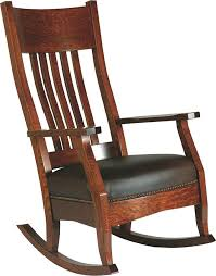 stickley rocking chair value mission rocking chair with optional