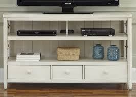 Coastal TV Console with Rope Accents by Liberty Furniture