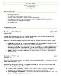 Resume For Kitchen Hand Example Sample Barte Large
