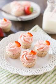 The Best Homemade Strawberry Cupcakes With Buttercream Frosting Made From Fresh Puree