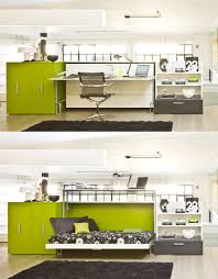 Space Saver Desk Ideas by Space Saving Cabrio Wall Bed With Desk From Resource Furniture