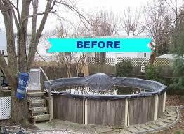 Pool Deck Makeover Decks Outdoor Living Designs