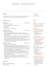 Lab Assistant - Resume Samples & Templates   VisualCV Sample Resume Labatory Supervisor Awesome Stock For Lab Technician Skills Examples At Objective Research Associate Assistant Writing Guide 20 Science For Job The Molecular Biologist Samples Velvet Jobs Revised Biology 9680 Drosophilaspeciionpatternscom Chemistry 98 Microbiology Graduate