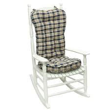 Shop Navy Plaid Jumbo Rocking Chair Cushion - Ships To Canada ... Cracker Barrel Rocking Chair Cushions Ideas All Modern Chairs Tyson Cushion Set Rocker Miles Kimball Inside Fniture Spectacular Pads For Your Residence Design Sets And More Clearance Outdoor Arandoclub Top Small Patio Target Protectors Table King Outside Shop Greendale Home Fashions Moss Hyatt Jumbo Indoor Custom White Clearance Targ And Adirondack Engagin Standard Navy Blue