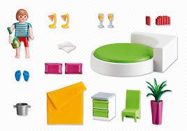 Playmobil 5319 La Maison Traditionnelle Parents Chambre La Villa Moderne Playmobil Simple La Villa Moderne La Maison