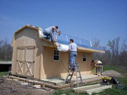 Pre Built Sheds Columbus Ohio by How Do You Get That Barn In My Backyard Beachy Barns
