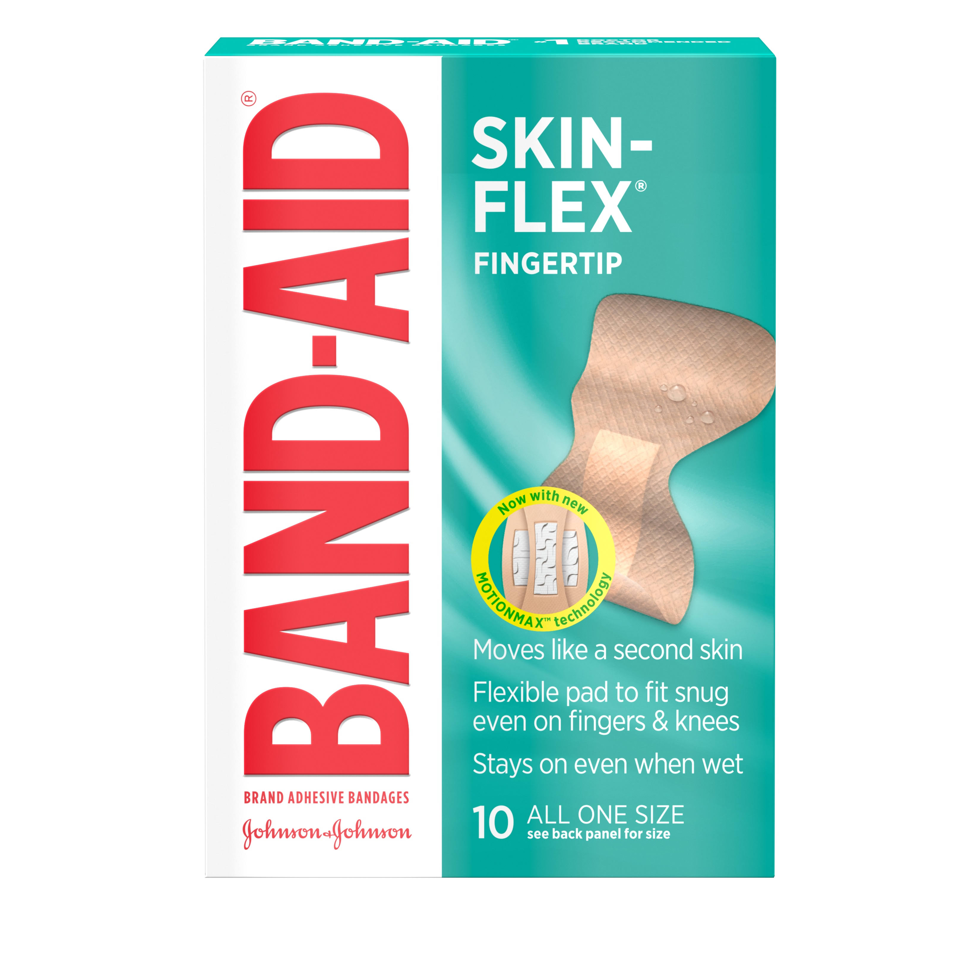 Band-Aid Brand Skin-Flex Finger Adhesive Bandages - 10 Count