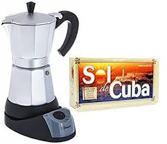 Electric Cuban Espresso Coffee Maker 6 Cups 8 Oz Pack Of Included