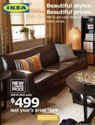 Ikea Jappling Chair Cover by Jäppling Sofa Skinnarp Dark Brown Width 73 1 4