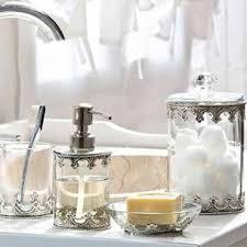 Beach Glass Bath Accessories by Luxurious White Sea Glass Bathroom Accessories Bathroom Soap And