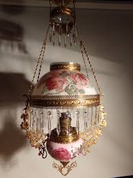 Ebay Antique Lamps Vintage by All Original Antique Miller Hanging Oil Lamp Oil Lamps Oil And