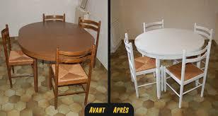relooker une table de cuisine relooking table chaise fauteuil vannes rennes lorient bretagne