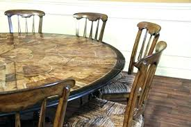 Round Wooden Dining Table For 6 Wood Set Beautiful And