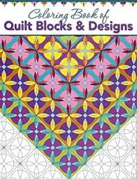 Coloring Book Of Quilt Blocks Designs