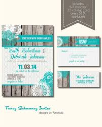 Rustic Wedding Invitation Suite Burlap And Lace On Etsy