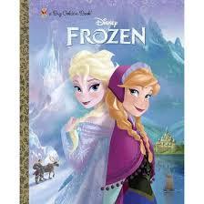 Disney Frozen Big Golden Books Hardcover By Bill Scollon