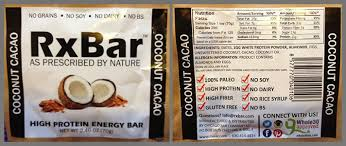 Ride Food RxBar Review