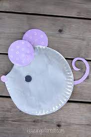 Paper Plate Mouse Easy Kids Craft
