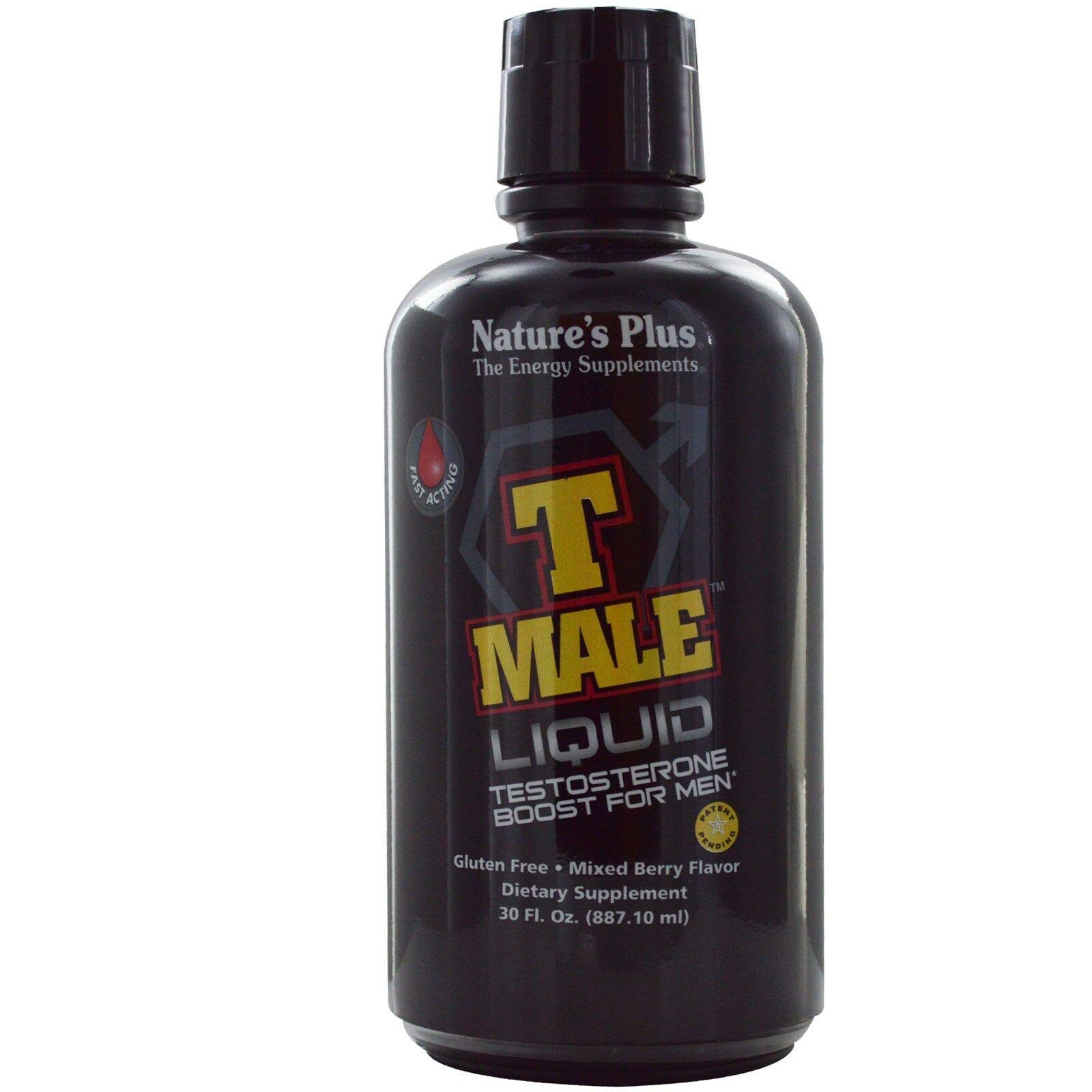 Nature's Plus T Male Liquid - Mixed Berry